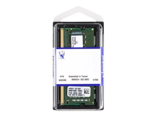 Kingston DDR4 SO-DIMM, 260-PIN, 4-16 GB, 2666 MHz / PC4-21300, CL17, 1.2V, ungepuffert, non-ECC, für