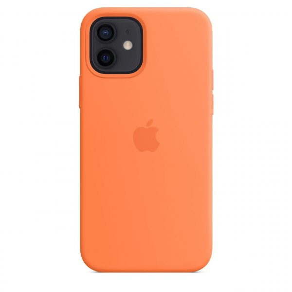 Apple iPhone 12 / 12 Pro Silikon Case mit MagSafe