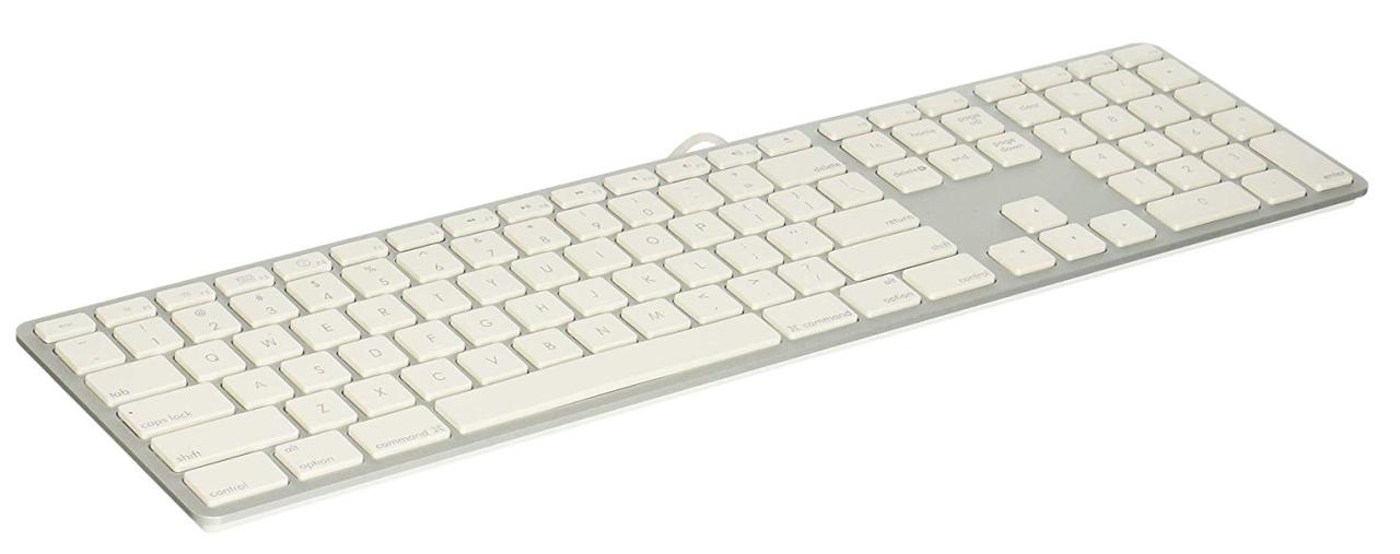 LMP USB Tastatur mit Zahlenblock 17748