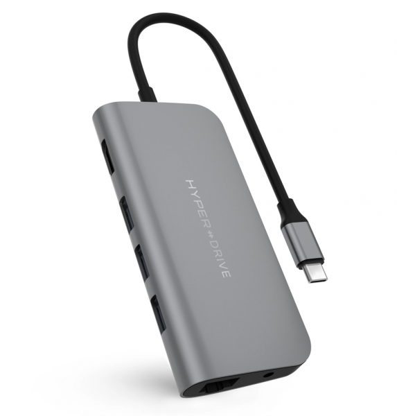 Drive POWER Hub 9-in-1 für Apple MacBook & USB-C Notebooks