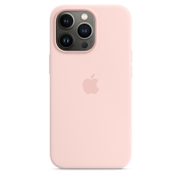 Apple iPhone 13 Pro Silikon Case Kalkrosa