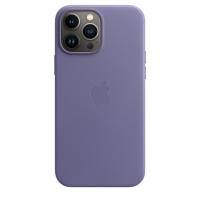 Apple iPhone 13 Pro Max Leder Case Wisteria