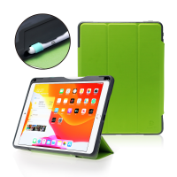 """DEQSTER Rugged Case (2021) für iPad 10.2"""" (7./8./9. Gen.) Lime Green"""