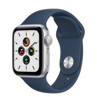 Apple Watch SE Aluminiumgehäuse Silber