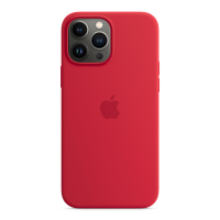 Apple Silikon Case für iPhone 13 Pro Max (Product) Red