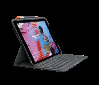 Logitech Slim Folio, Bluetooth, Deutsch, iPad Air (3. Gen.), Grafitgrau