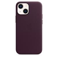 Apple iPhone 13 mini Leder Case Dunkelkirsch