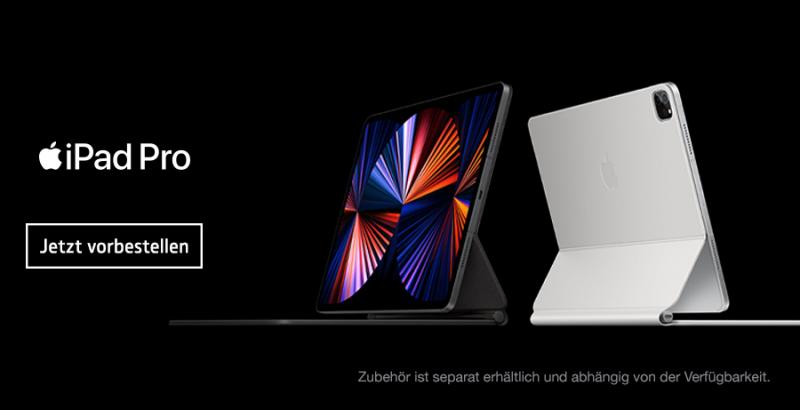Das neue iPad Pro mit M1 Chip. Jetzt vorbestellen!