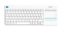 Logitech Wirless Touch Keyboard K400 Plus Weiß