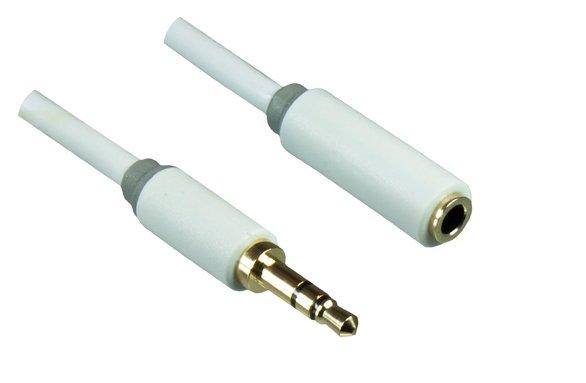 3,5mm Klinke Stecker auf Buchse Verlängerung
