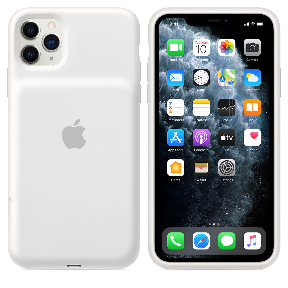 Apple iPhone Smart Battery Case Weiß iPhone 11 Pro Max MWVQ2ZM/A
