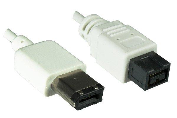 Dinic FireWire Kabel in MAC Design, weiß