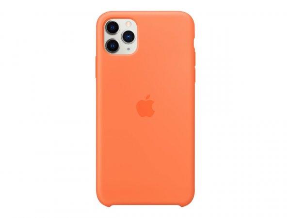 Apple iPhone 11 Pro Max Silikon Case, Vitamin C