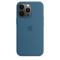 Apple iPhone 13 Pro Silikon Case Eisblau