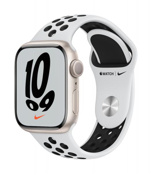 Apple Watch Nike Series 7 Aluminium Polarstern