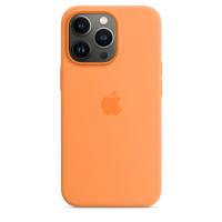 Apple iPhone 13 Pro Silikon Case Gelborange