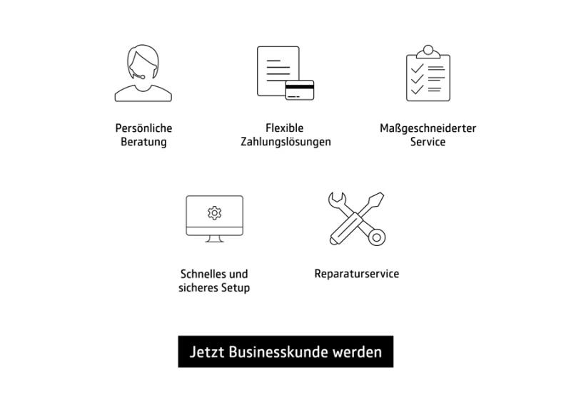 COMSPOT Business | Anmeldung Businesskunde