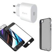 Devia Zubehör-Starterkit iPhone SE