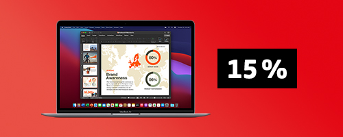 15% auf MacBook |COMSPOT