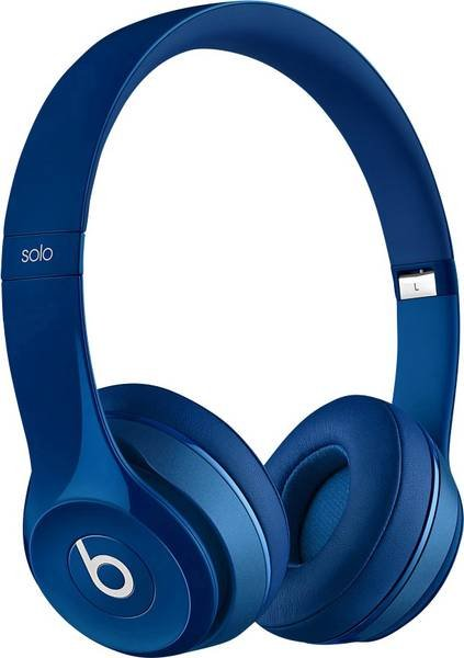 Beats by Dr. Dre Solo², On-Ear Kopfhörer, blau