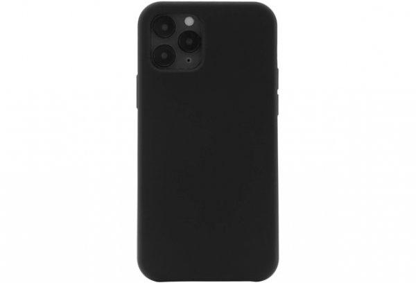 JT Berlin Silikon Case Steglitz für iPhone 12 / 12 Pro, Schwarz