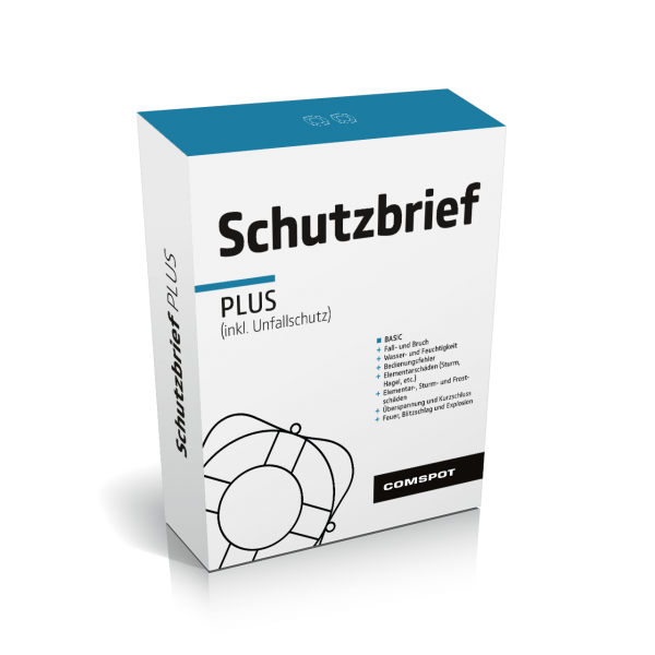 COMSPOT Schutzbrief Plus - Watch / Smartwatch