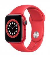 Apple Watch Series 6 Aluminium PRODUCT(RED), GPS, 44 mm, Regular, Sportarmband