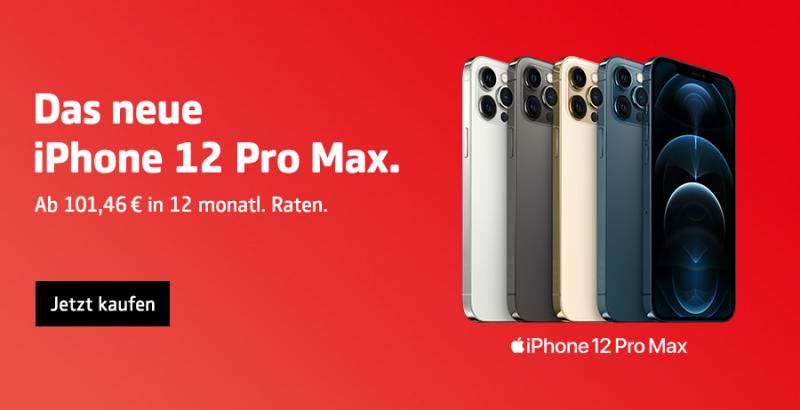 Das neue iPhone 12 Pro Max   COMSPOT