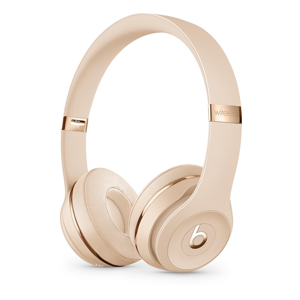 Beats Solo³ Wireless - The Beats Icon Collection Satin Gold MX462ZM/A