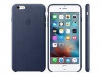 Apple iPhone 6/6s Plus Leder Case, Mitternachtsblau