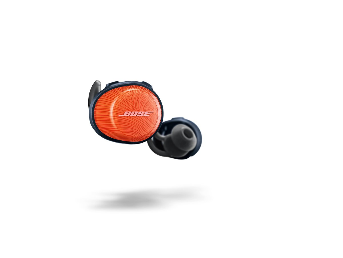 Bose SoundSport Free Wireless Headphones Orange 774373-0030