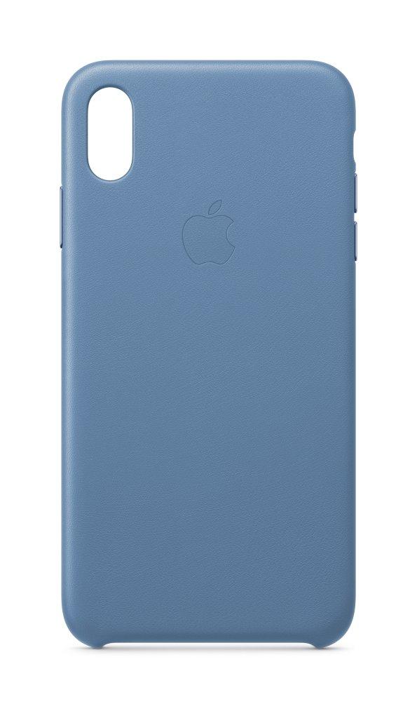 Apple iPhone XS Max Leder Case Kornblume MVFX2ZM/A