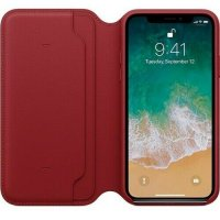 Apple iPhone Leder Folio (Product) Red