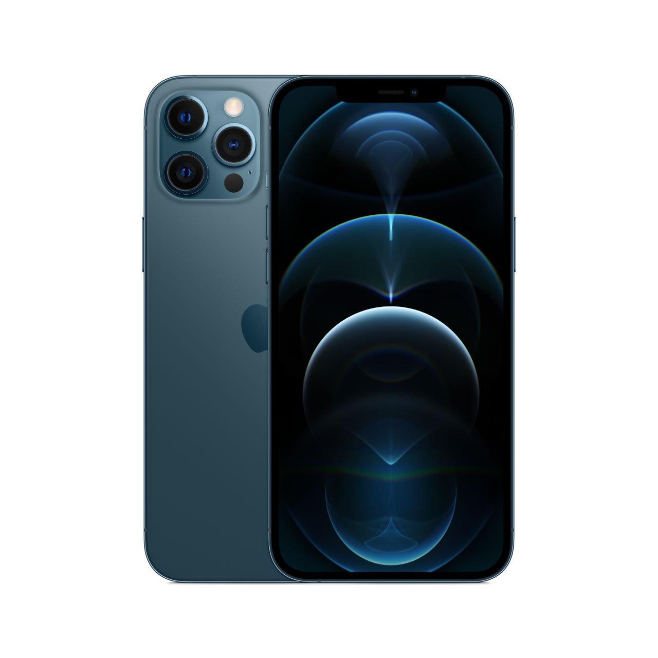 Apple iPhone 12 Pro Max Pazifikblau 256 GB MGDF3ZD/A