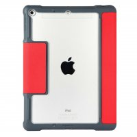 STM Dux Plus Duo Folio Case (schoolTab Edition) Rot/Transparent