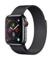 Apple Watch Series 4 GPS + Cellular, 40mm Edelstahlgehäuse