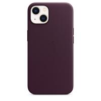 Apple iPhone 13 Leder Case Dunkelkirsch