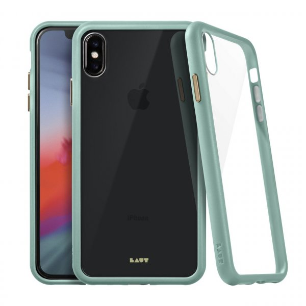 LAUT Accents Tempered Glass Case