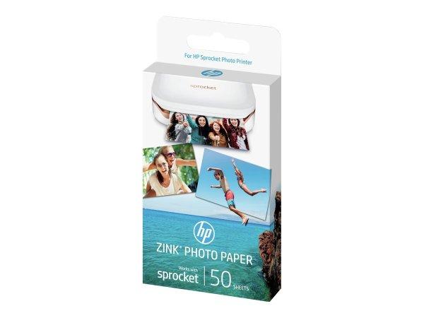 HP ZINK Sticky-Backed Photo Paper, glänzend