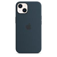 Apple iPhone 13 Silikon Case Abyssblau