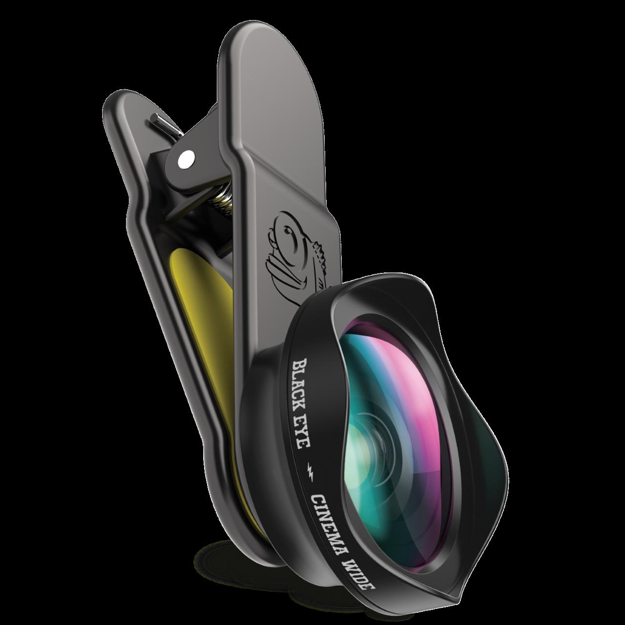 Black Eye Cinema Wide Angle 120° Weitwinkelobjektiv, Smartphone-Objektiv CW001