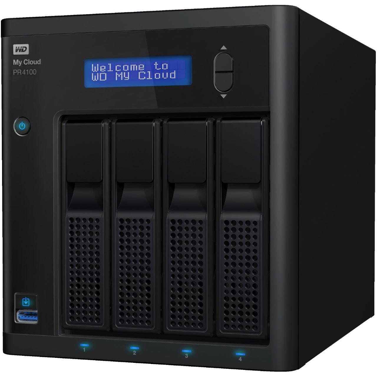 WD Western Digital My Cloud PR4100 24 TB WDBNFA0240KBK-EESN