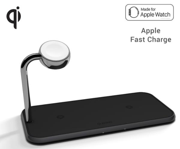 Zens Aluminium Dual Wireless Charger