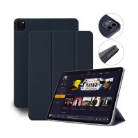 "Devia Magnetic Case für Apple iPad Pro 12.9"" (3.-5. Gen.) Blau"