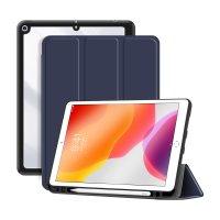 """DEQSTER Rugged Trifold Case für iPad 10.2"""" (7./8./9. Gen.) Blau"""