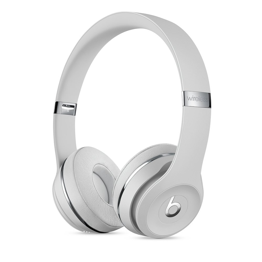 Beats Solo³ Wireless - The Beats Icon Collection Satin Silber MX452ZM/A