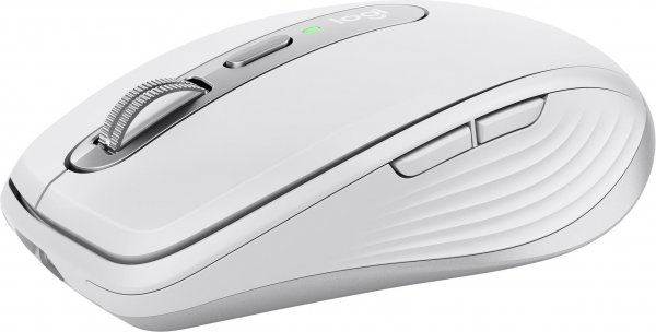 Logitech Wireless MX Anywhere 3 für Mac, 6 Tasten, Hellgrau