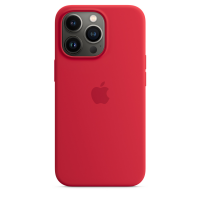 Apple Silikon Case für iPhone 13 Pro (Product) Red