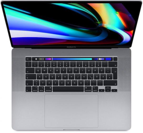 """Apple MacBook Pro 16"""", 2.4 GHz i9, 16 GB, 2 TB SSD, Englisch"""