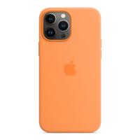 Apple iPhone 13 Pro Max Silikon Case Gelborange